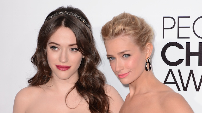 "Kat Dennings and Beth Behrs had a hilarious ""best friend dance party,"" and we're experiencing major FOMO"