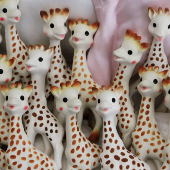 Uh, those little Sophie the Giraffe toys for babies might be full of mold