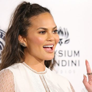 "Chrissy Teigen proved that she's *also* musically inclined by teaching herself ""Beauty and the Beast"" on piano"