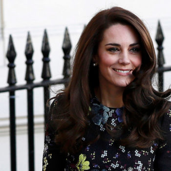 Kate Middleton is determined to make us all forget it's January in her springtime floral frock