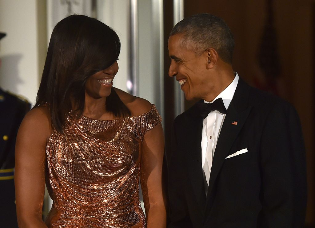 President Obama repeated our favorite part of his farewell address for Michelle's birthday