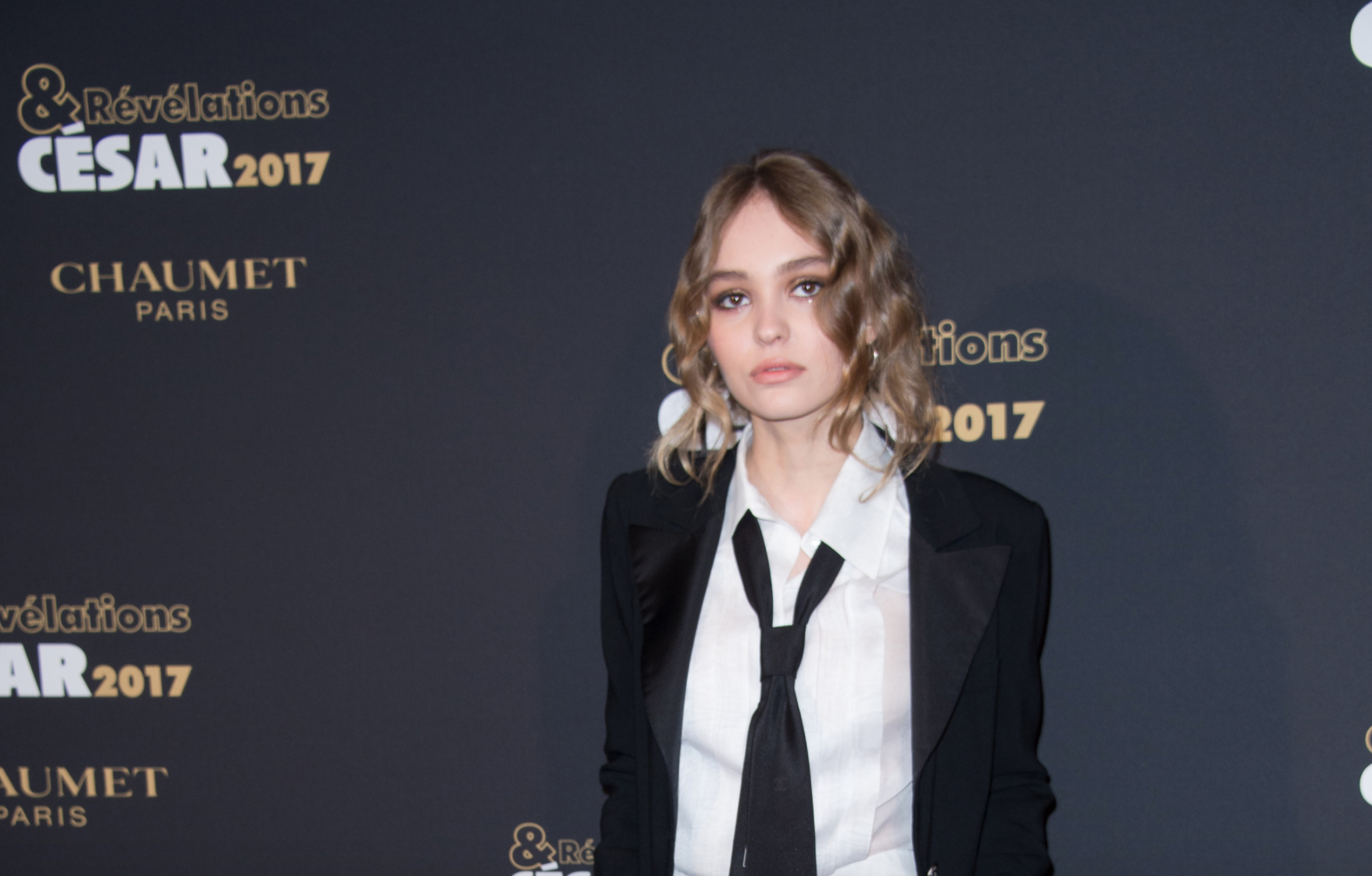 Lily-Rose Depp hops aboard the tuxedo trend train for her latest red carpet look