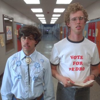 "Pedro from ""Napoleon Dynamite"" is now a totally grown up dapper gentleman"