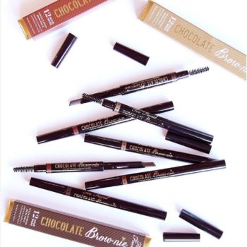 Thanks to Too Faced, we'll have sweet smelling eyebrows with their new cocoa-infused brow pencils