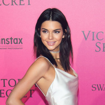 The internet is collectively tilting its head at this photo of Kendall Jenner's legs