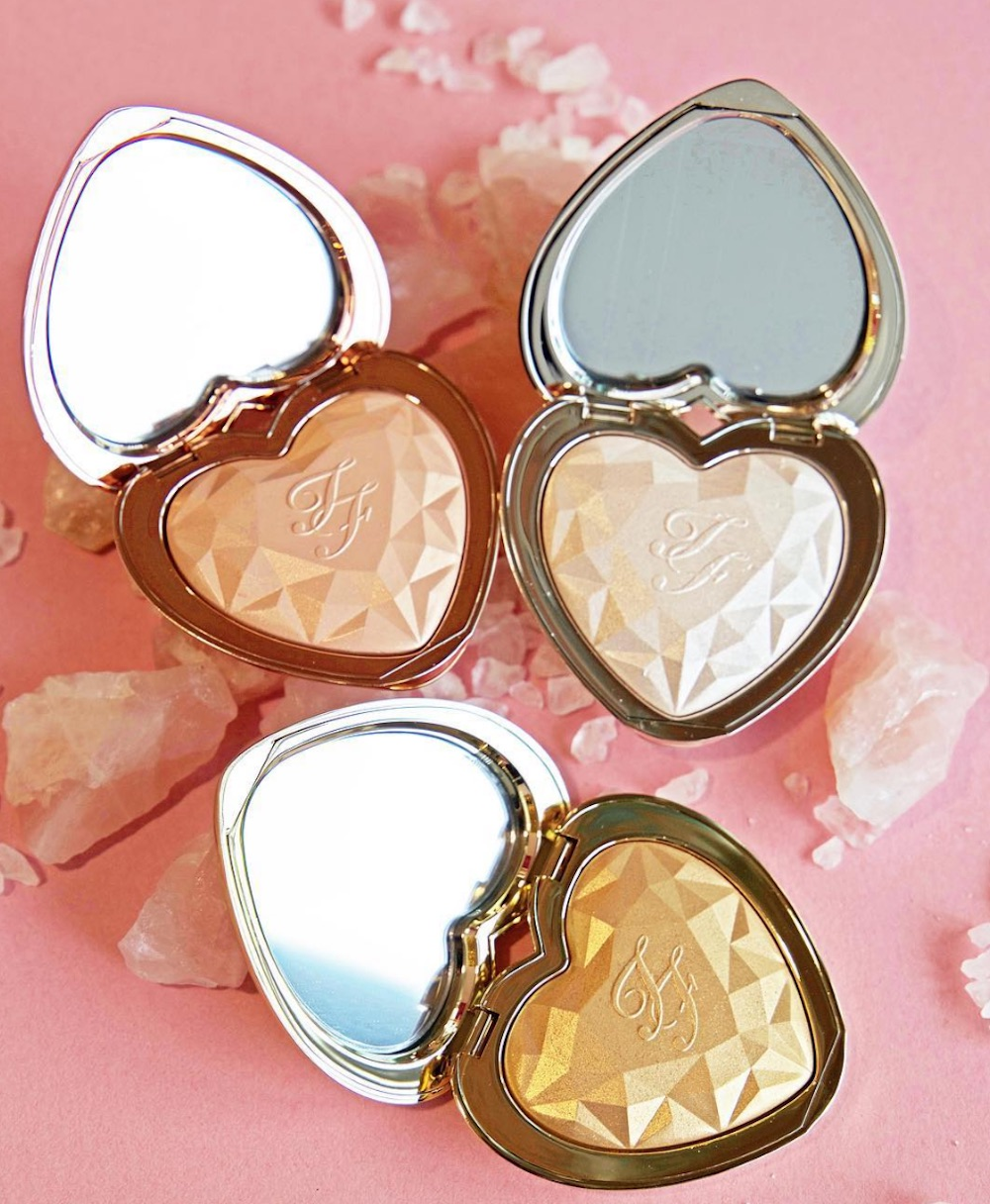 Jerrod Blandino shared a sneak peek of Too Faced's upcoming Love Light highlighter, and the packaging is giving us heart eyes