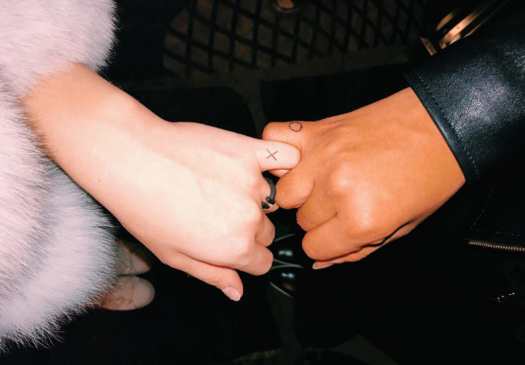 Kiersey got a new matching tattoo with Dove Cameron in Vegas, and it's #goals