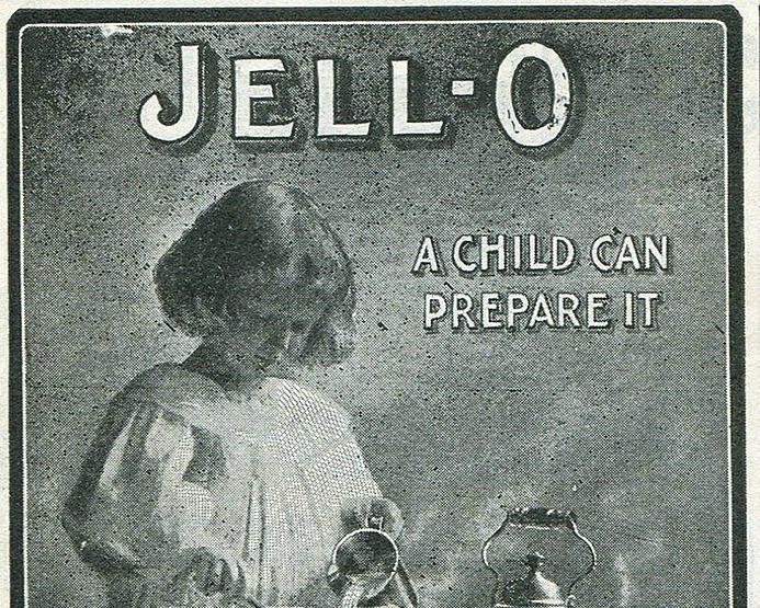We cannot look away from this intense tropical Jell-O cake recipe from 1928