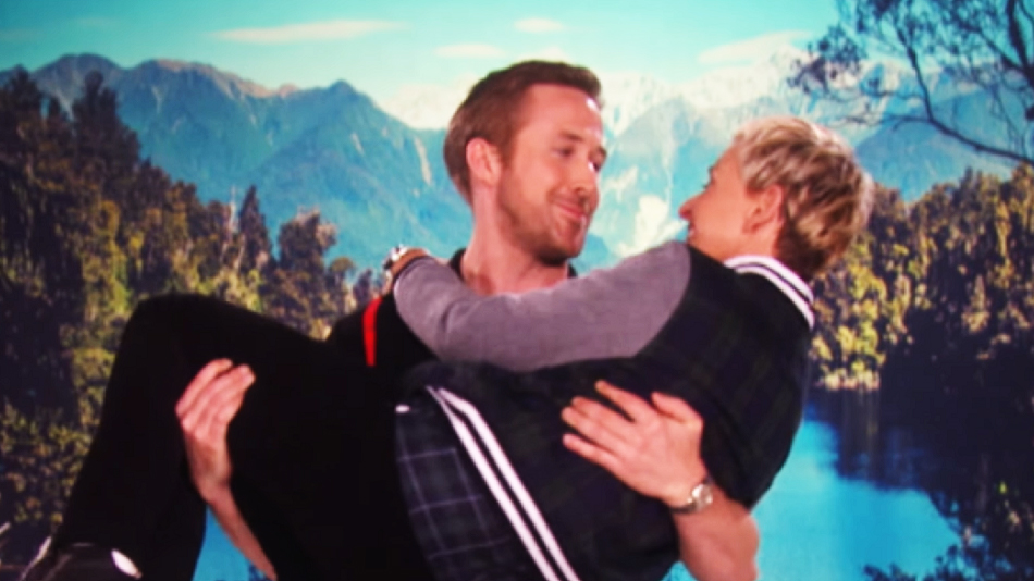 "Ellen says she was *totally* in the running to play Emma Stone's character in ""La La Land,"" and here's the video to prove it"