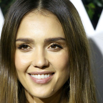 Jessica Alba met the cop who has her face tattooed on his arm, and she was genuinely flattered
