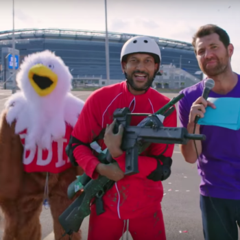 Billy Eichner summed up America's gun laws in his most hilarious — and eye opening — sketch yet