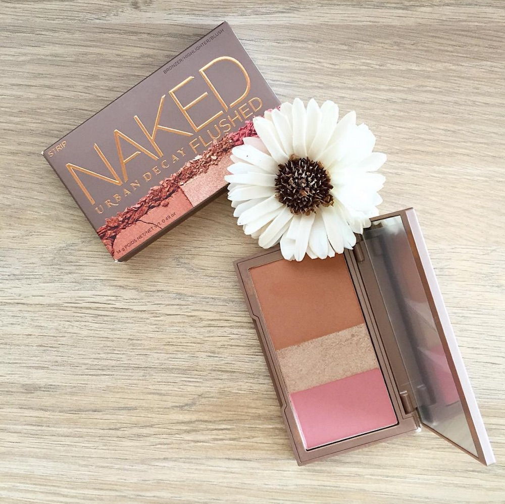 Urban Decay added new shades to their wildly popular Naked Flushed palettes, and it will give you that springtime glow