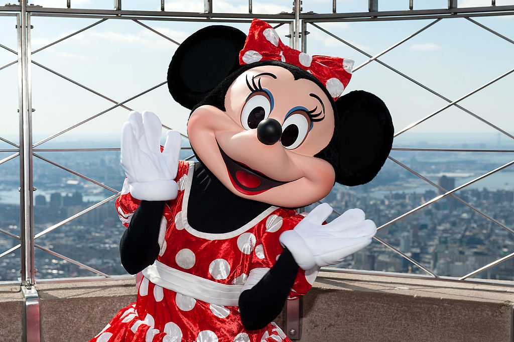 Minnie Mouse teamed up with photographer Gray Malin in honor of National Polka Dot Day