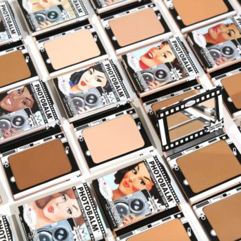 We're going to look camera ready with theBalm Cosmetics' new PhotoBalm foundation powders
