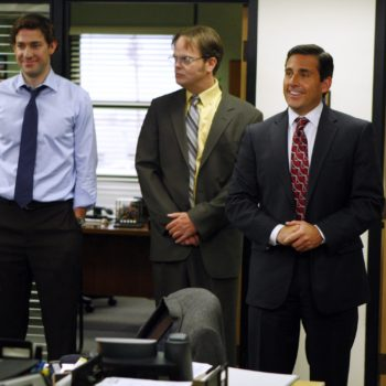 "Steve Carell just tweeted that ""The Office"" is coming back"