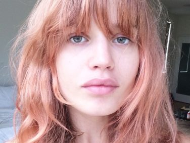 "There's a new hair color trend called ""blorange"" and we have questions"