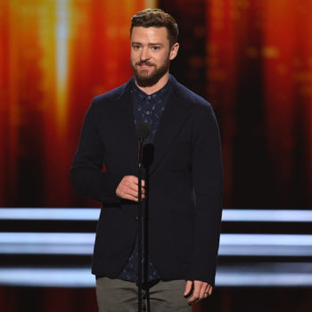 Justin Timberlake won Favorite Male Artist at the People's Choice Awards, because he's Justin Timberlake