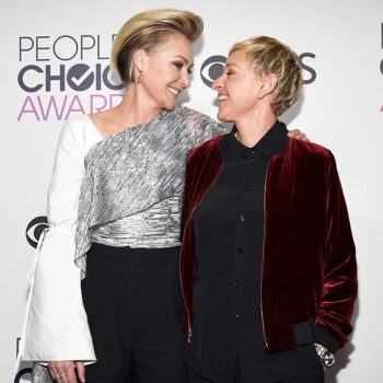 Ellen Degeneres and Portia de Rossi's kiss just won People's Choice Awards