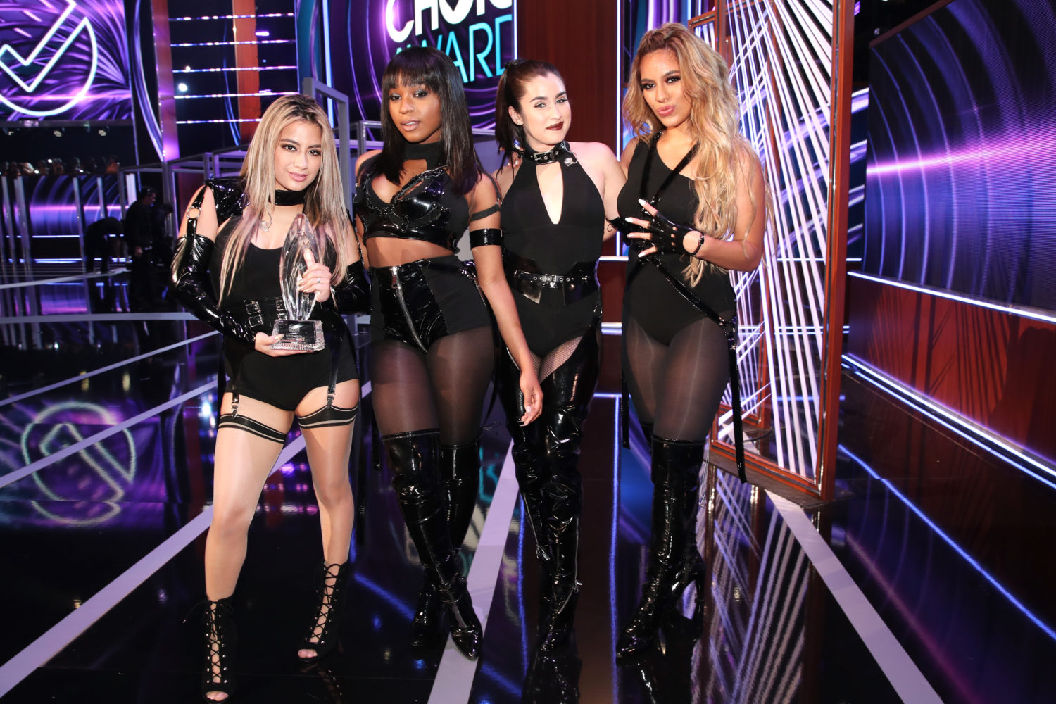 Fifth Harmony performed for the first time without Camila Cabello at the People's Choice Awards, and totally killed it