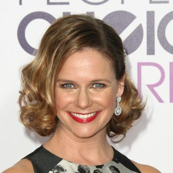 Kimmy Gibbler (aka, Andrea Barber) is wearing the most Kimmy Gibbler dress at People's Choice Awards