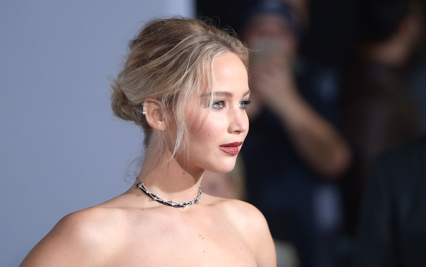 Jennifer Lawrence won Favorite Movie Actress at The People's Choice Awards, and we're on board