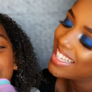 This 5-year-old girl narrated her mom's makeup tutorial, and it's unbelievably charming