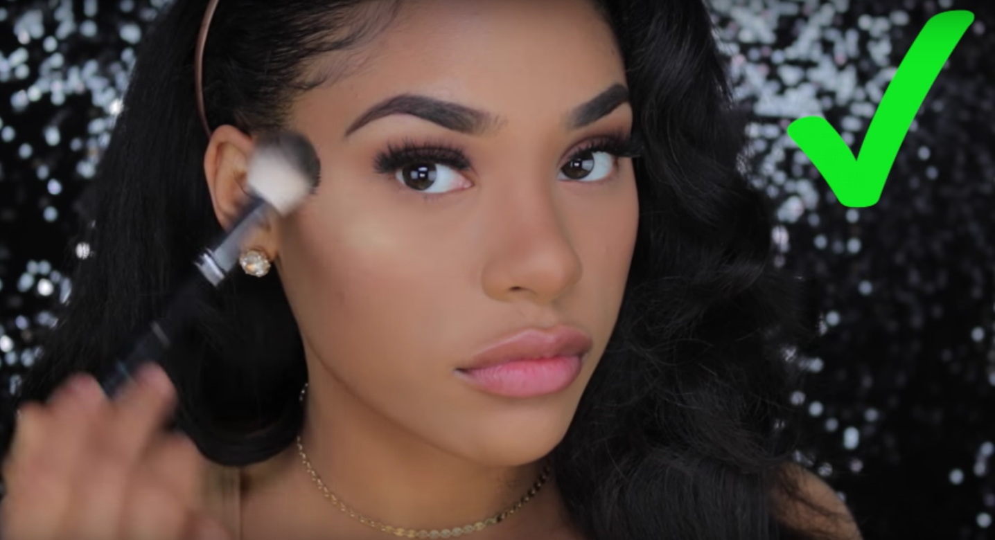 One of our fave bloggers shows us how to avoid the dreaded powder makeup flashback