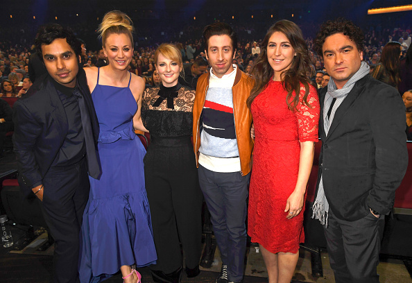 """The Big Bang Theory"" cast couldn't look more adorable after celebrating some exciting news last night"