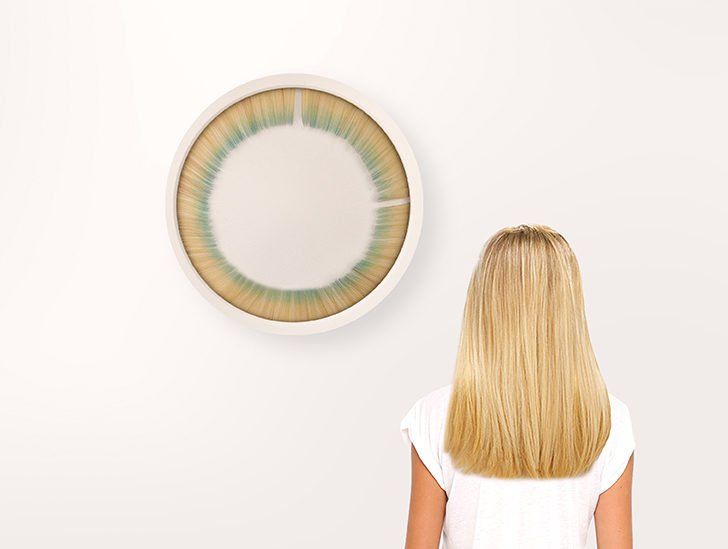 This just in: There's an eyelash clock that's really weird, but also really soothing?