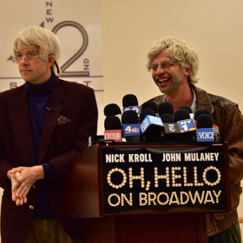 "Stock up on tuna, because Broadway's hilarious ""Oh, Hello"" will be filmed and broadcast"