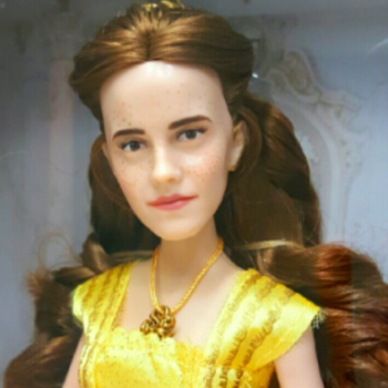 This artist gave the Emma Watson Belle doll a much-needed makeover, and she's gorgeous now