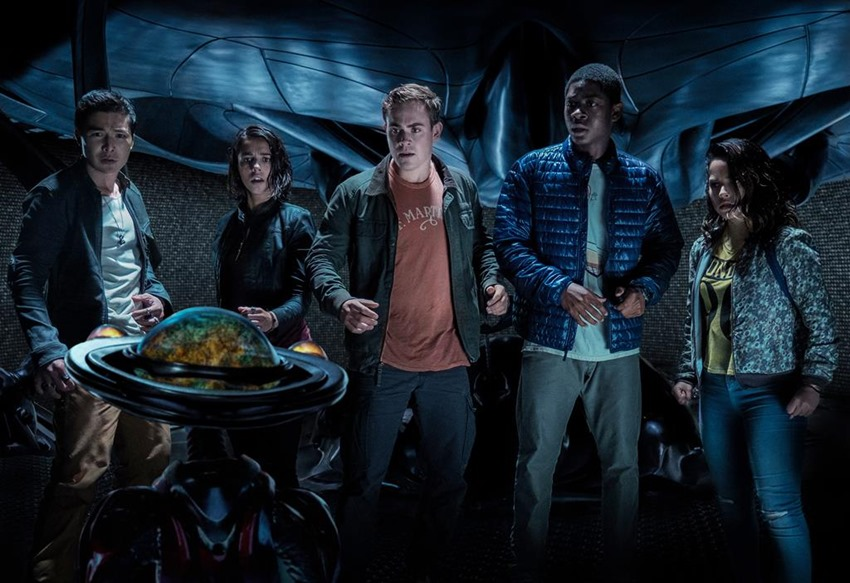 """The new """"Power Rangers"""" trailer shows us Bryan Cranston as Zordon, and if we're going to save the world we want him as our mentor"""