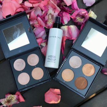 We're going to be glowing this year thanks to Cover FX's new illuminating setting spray and highlighter palettes