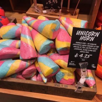This video of Lush's Unicorn Horn Bubble Bar being made will seriously enchant you