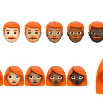 Redheads might be getting their own set of emojis, finally