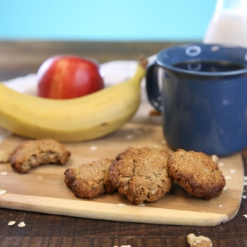 Deceptively delicious breakfast cookies