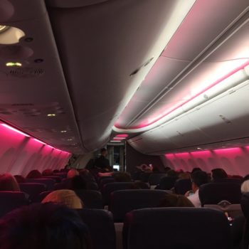 Southwest Airlines lit up its cabins in pink for this amazing reason