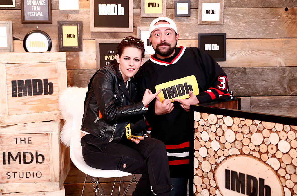 At least Kristen Stewart looks like she's having the time of her life at Sundance