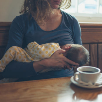 I decided to give up on breastfeeding, but please don't shame me for it