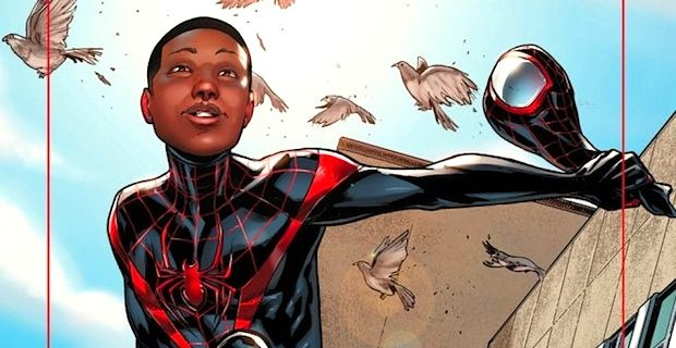 Biracial Spider-Man Miles Morales is finally getting his own movie