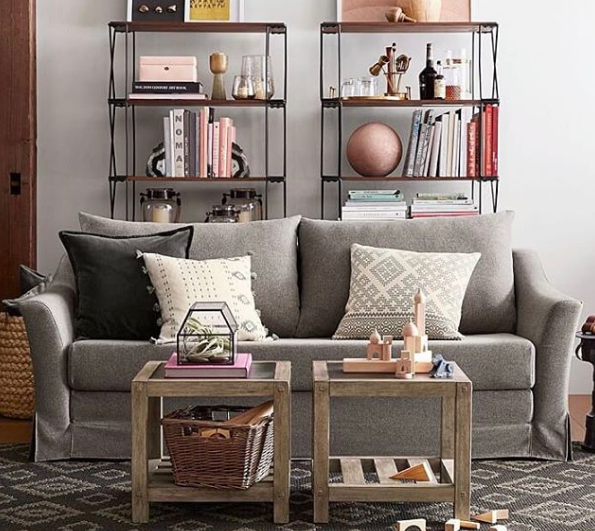 Small can still be fancy with the new Pottery Barn collection for small spaces