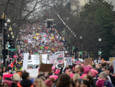 These photos of the crowd sizes at the Women's Marches are the hope we need