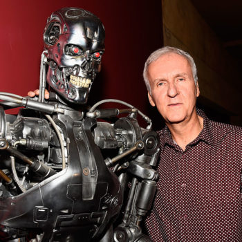 "James Cameron is in talks with the ""Deadpool"" director to once again reboot the ""Terminator"" franchise"