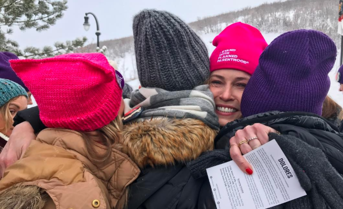 Chelsea Handler at the Women's March is all of us