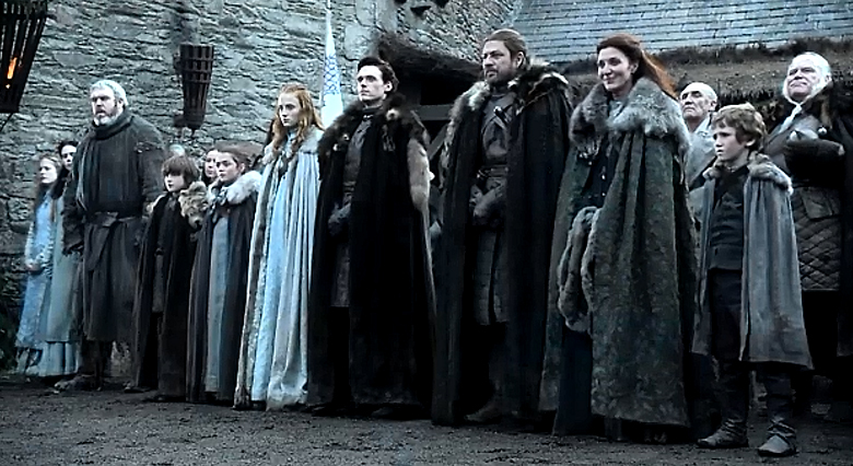 Game Of Thrones Stark Familie