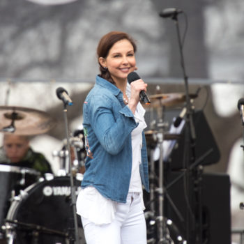 "Ashley Judd read the ""Nasty Women"" poem at the Women's March and it will give you chills"