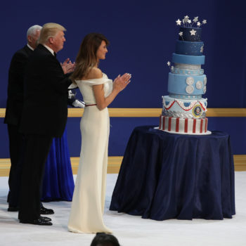 The proceeds from Donald Trump's inaugural cake went to the Human Rights Campaign, which was a good call on the baker's part
