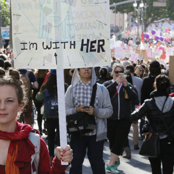 We spotted amazing random acts of kindness at the LA Women's March