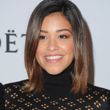 Gina Rodriguez's throwback protest is something we can seriously get behind