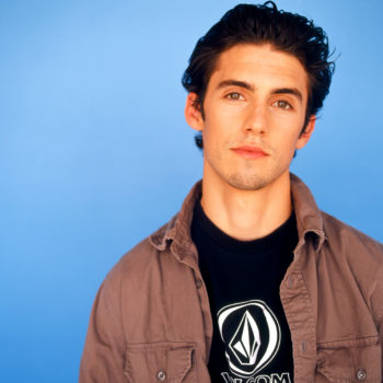 """Milo Ventimiglia played a jock on """"Sabrina the Teenage Witch"""" back in the '90s, and it's perfect"""